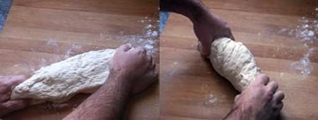 Amasado, refinado del pan