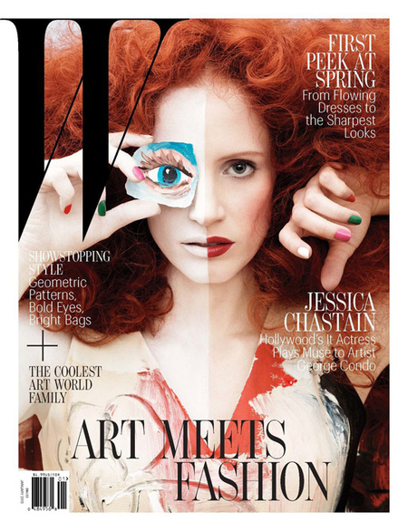 W Magazine de Jessica Chastain