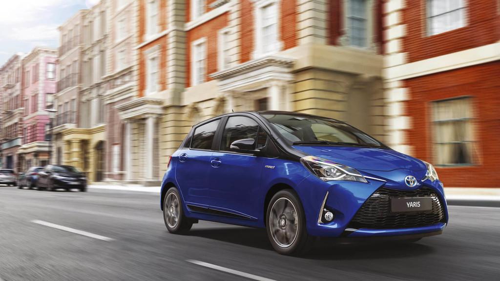 Toyota Yaris Azul