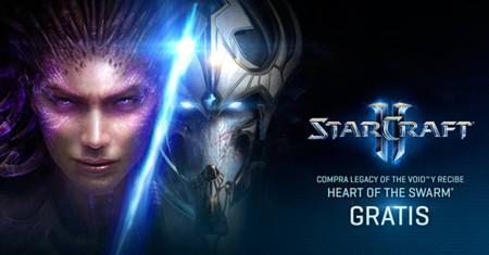 Blizzard esta regalando Heart of the Swarm en la compra de Legacy of the Void
