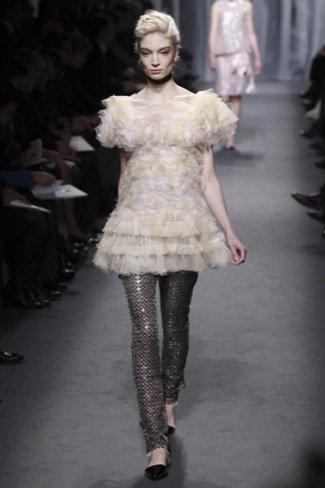Chanel Alta Costura Primavera-Verano 2011 bailarina