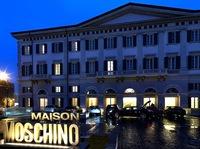 Hotel Maison Moschino, elegante y muy divertido