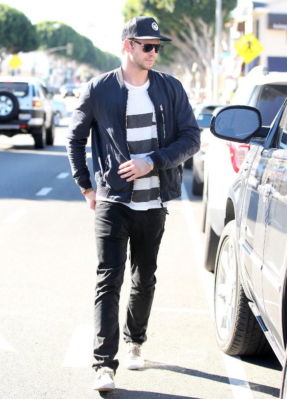 Liam Hemsworth estilo