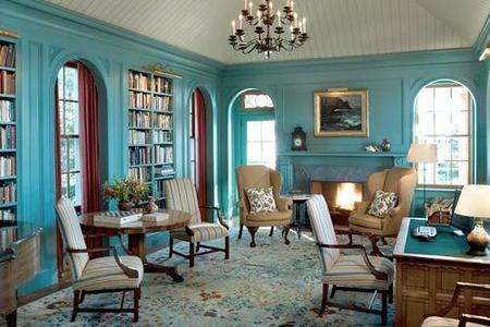 Ideas para decorar en azul turquesa - Color turquesa en paredes ...