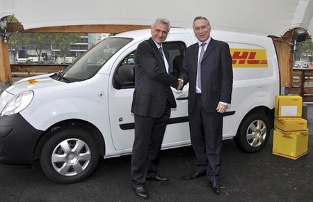 DHL contará con una flota de 50 vehículos eléctricos Renault