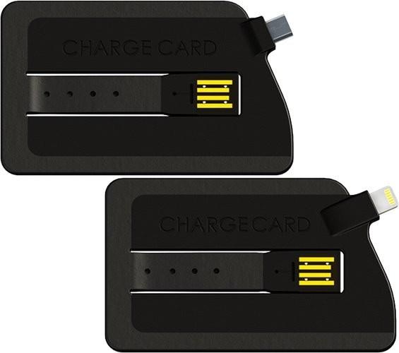 ChargeCard es el cable para tu teléfono en formato de tarjeta de crédito