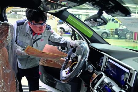 Kia Hibrido Produccion Interior