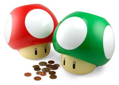 Huchas de Super Mario