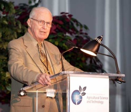 Un Nobel de la Paz Alimentario. Norman Burlaug