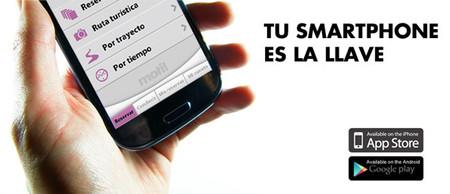 La llave Motit es una app de Smartphone