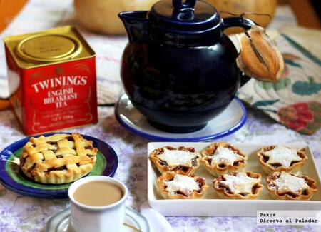 Minced meat pies, receta navideña británica