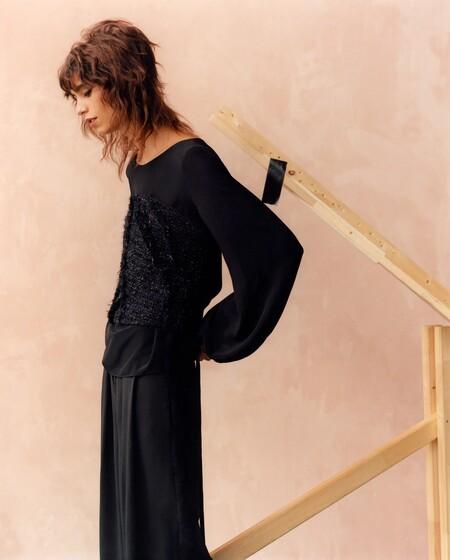 Zara Otono 2021 Novedades Negro 06