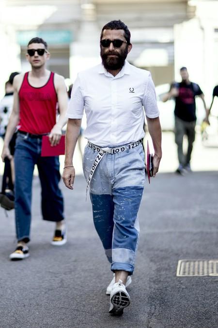 Dí adiós al pitillo, estos pantalones anchos son pura comodidad