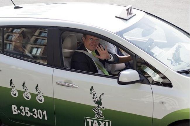 Taxi eléctrico de Ciudad de México