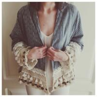 El kimono folk de Zara ya lo peta en Instagram (y ha colgado el cartel de sold out)