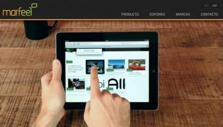 Marfeel convierte cualquier contenido web en una experiencia táctil