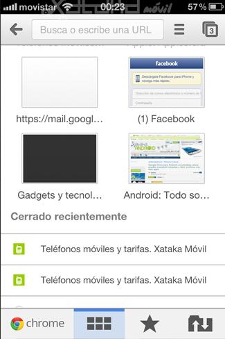 Foto de Google Chrome en iOS (3/15)