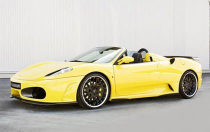 Ferrari F430 Spider, también preparado por Hamann