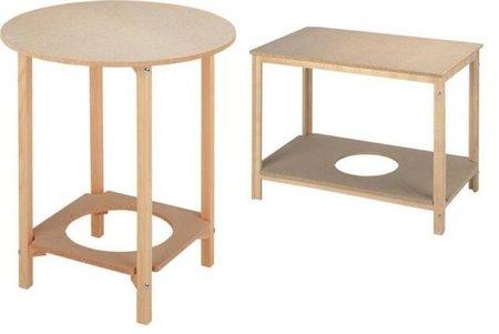 Mesas camilla, versiones para verano e invierno