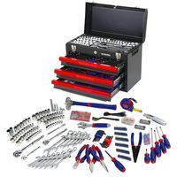 Oferta flash en el cajón de herramientas de 408 piezas Workpro W009044A: hsta medianoche su precio es de 149,99 euros