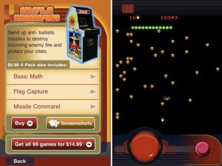 Atari Greatest Hits para iOS, regreso al pasado