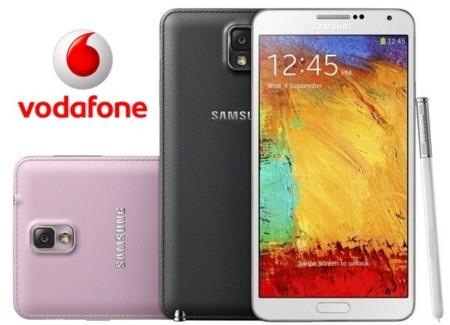 Precios Samsung Galaxy Note 3 con Vodafone
