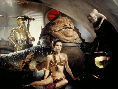 La princesa Leia en El retorno del Jedi