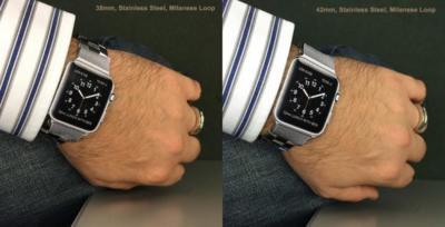 ¿Esperando para hacerte con un Apple Watch? Despeja tus dudas sobre sus dos tamaños
