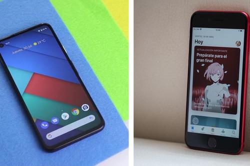 Pixel 4a vs iPhone SE: así es la comparativa entre los modelos más asequibles de Google y Apple