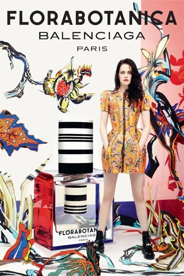 Balenciaga presenta Florabotanica con Kristen Stewart
