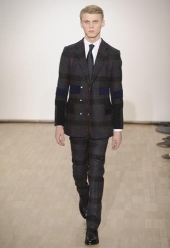 Raf Simons, Otoño-Invierno 2010/2011 en la Semana de la Moda de París. Cuadros