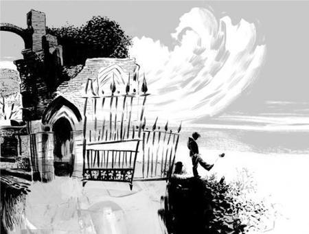 'El libro del cementerio', la última novela de Neil Gaiman