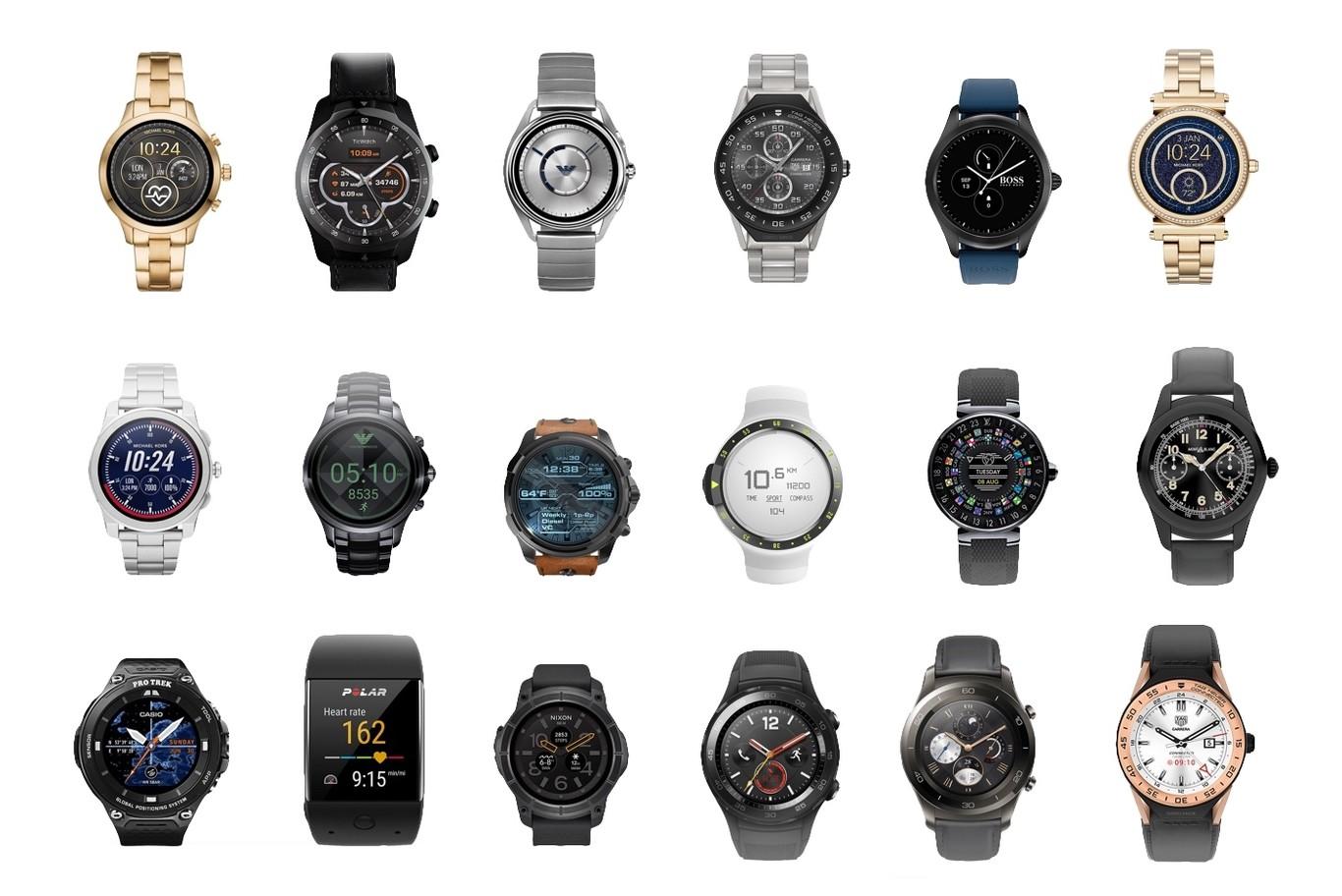 Estado de Wear OS: una comparativa de todos los relojes