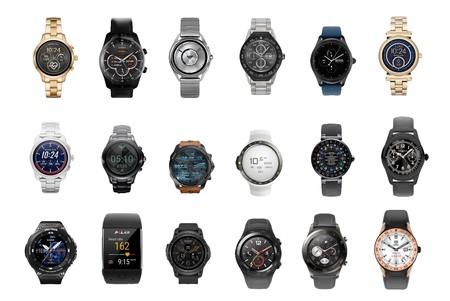 Estado de Wear OS: una comparativa de todos los relojes inteligentes con el sistema operativo de Google