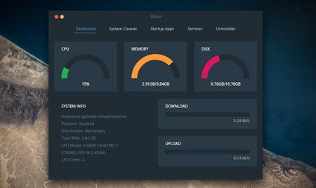 Stacer, una app todo en uno que te deja monitorizar y optimizar el sistema en Ubuntu