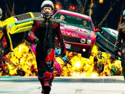 Las carreras más locas de GTA Online ahora llevarán tu firma con el Creador de Carreras Acrobáticas