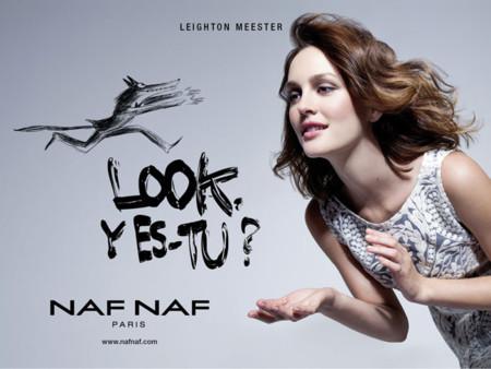 Leighton Meester para Naf Naf