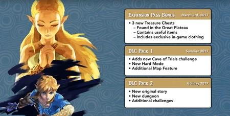 The Legend of Zelda: Breath of the Wild tendrá pase de temporada y esto es lo que incluye