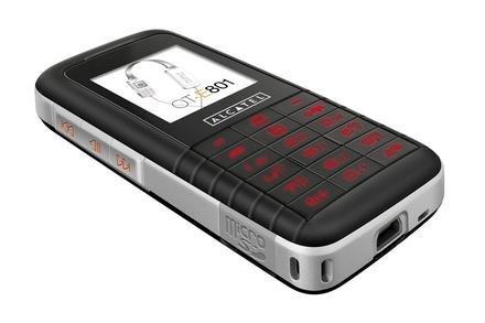 Alcatel OT-E801, gama baja con reproducción de MP3