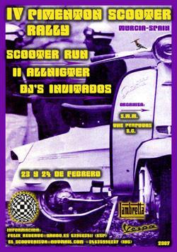 4º Pimentón Scooter Rally, Murcia 23 y 24 de febrero
