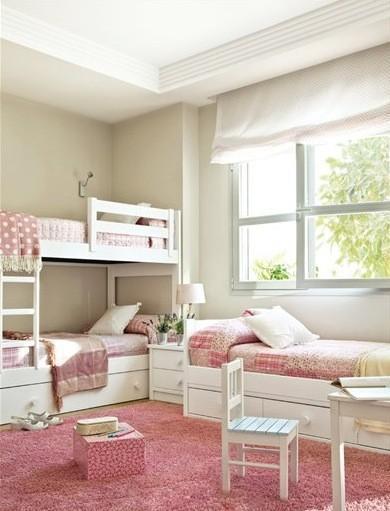 Habitaciones infantiles para tres o m s ni os - Dormitorios con literas para ninos ...