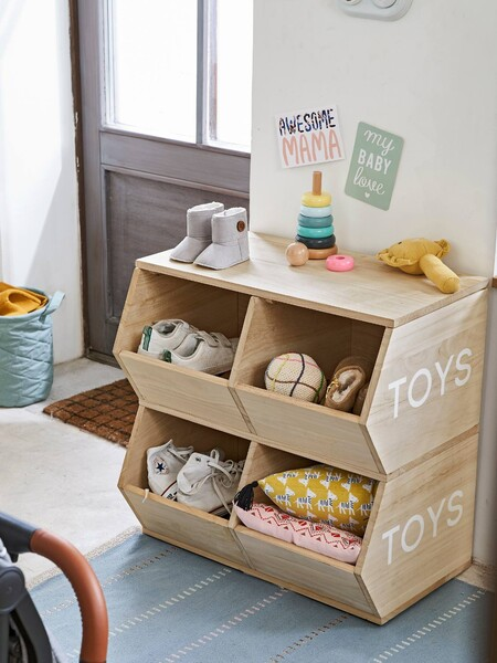 Mueble Con 4 Cajas Toys 1