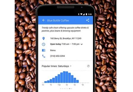 Google ahora puede decirte las horas pico de los locales