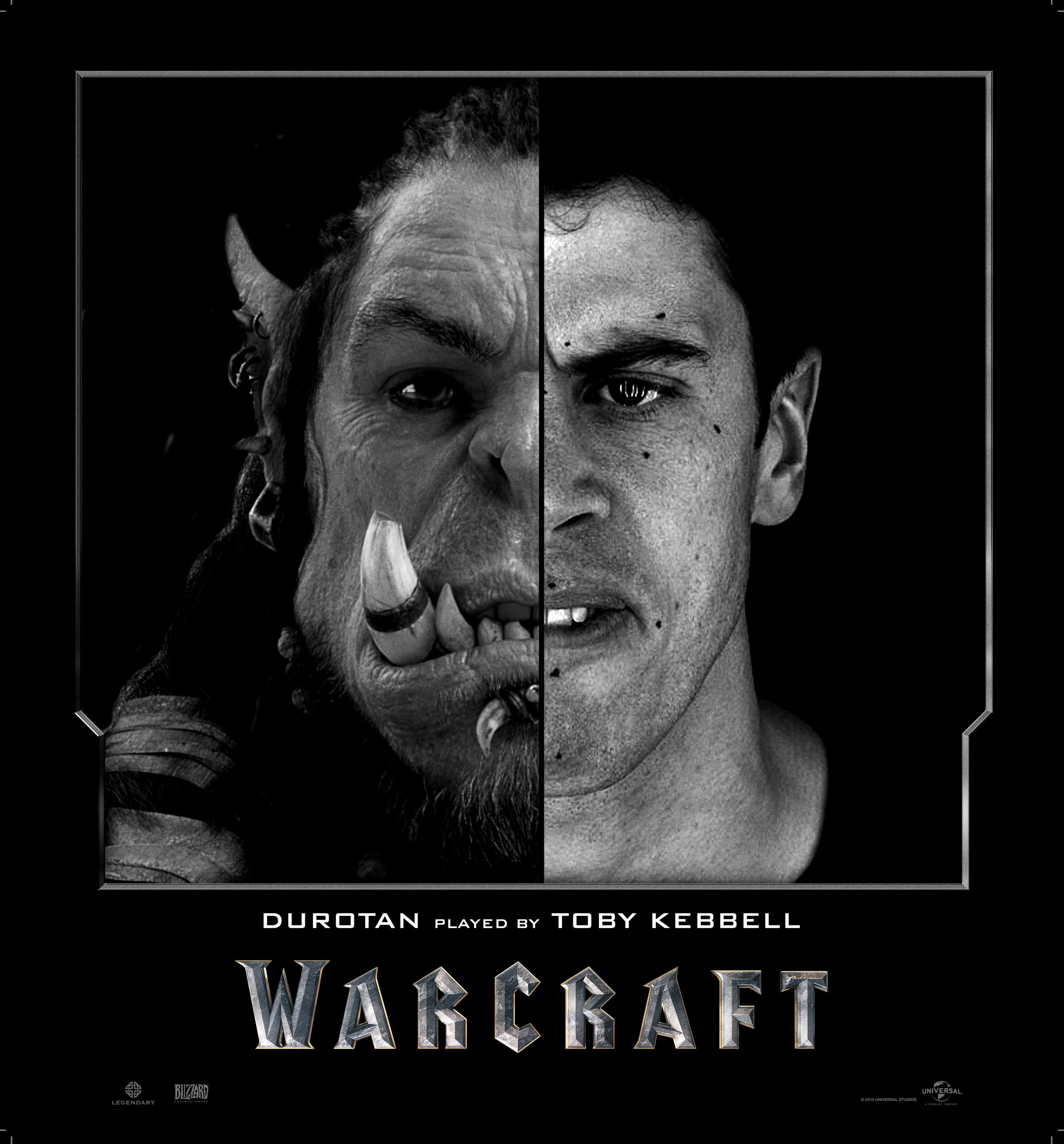 Los actores detrás de las criaturas de 'Warcraft'