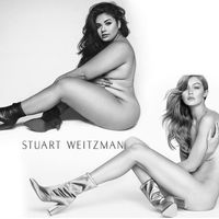 Lo ha vuelto a hacer: la modelo plus size que recreó una sesión de fotos de Kim Kardashian repite ahora con Gigi Hadid