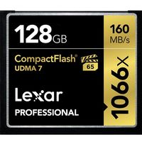 La Compact Flash Lexar Professional de 128 Gb, cuesta ahora 88,90 euros en Amazon