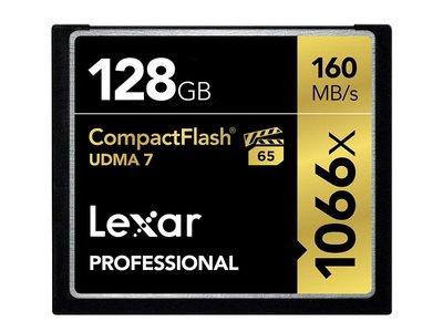 La Compact Flash Lexar Professional de 128 Gb, cuesta ahora 88,90 euros en Amazon