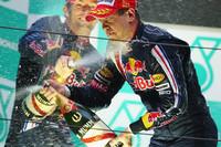GP de China: doblete histórico de Red Bull, en una carrera marcada por la lluvia