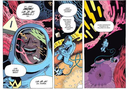 Cómo Albert Monteys está reinventando los cómics de ciencia-ficción con '¡Universo!'