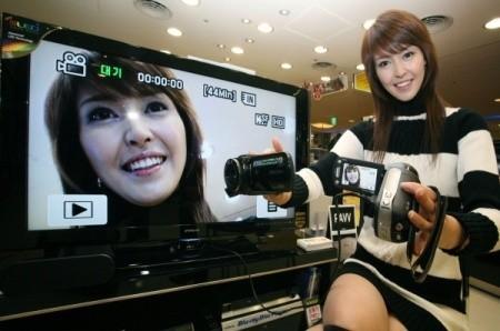 Videocámara HD Samsung VP-HMX10A empieza a venderse